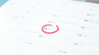 Kalender - freier Finanzberater und unabhängiger Versicherungsmakler in Karlsruhe